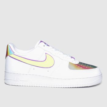 Nike Multi Air Force 1 Easter c2namevalue::Womens Trainers#promobundlepennant::£5 OFF BAGS