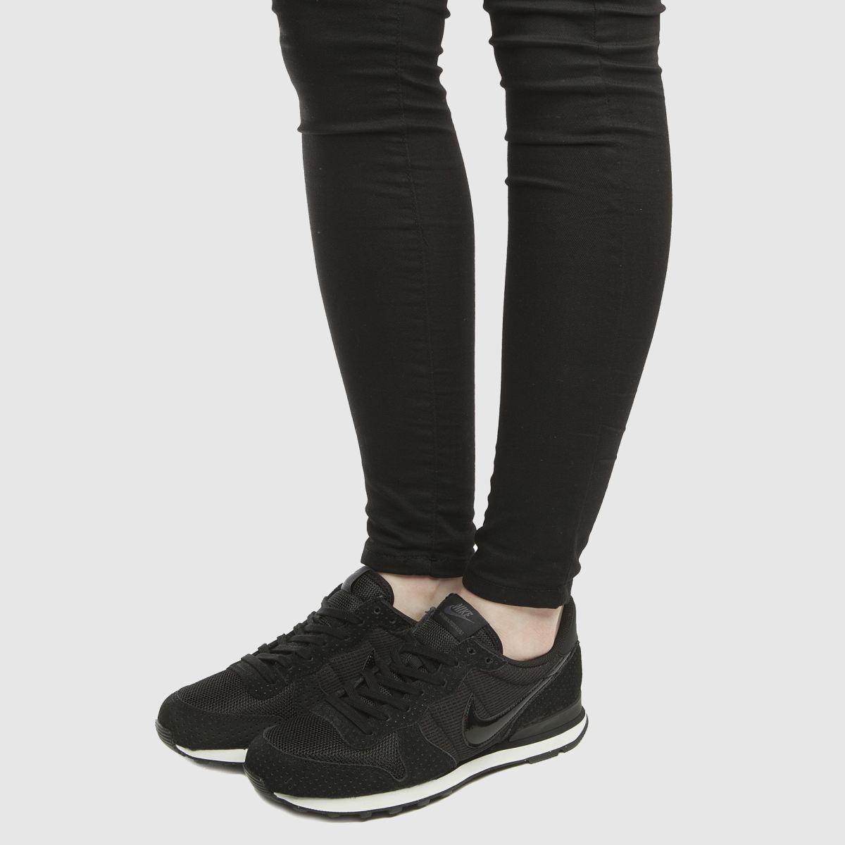 Damen Schwarz-weiß nike Internationalist Sneaker | Schuhe schuh Gute Qualität beliebte Schuhe | 1af300