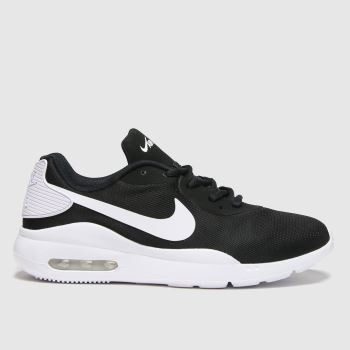 Nike Black & White Air Max Oketo Womens Trainers