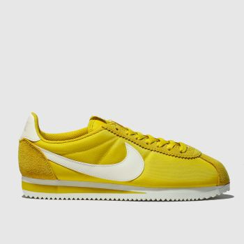 Nike Yellow Cortez Womens Trainers