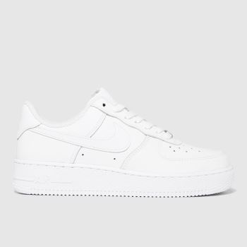 Nike White Air Force 1' 07 Womens Trainers