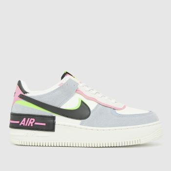 Nike Multi Air Force 1 Shadow Womens Trainers