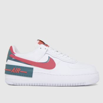 Nike White Air Force 1 Shadow Womens Trainers