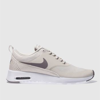 Nike Air Max Formateurs Pourpre Et Rose Thea Bord