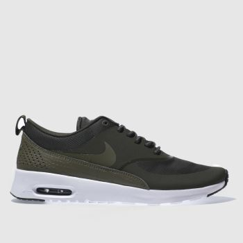 Nike Khaki AIR MAX THEA Trainers