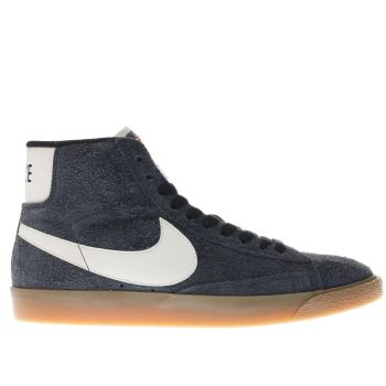 NIKE DARK GREY BLAZER MID TRAINERS