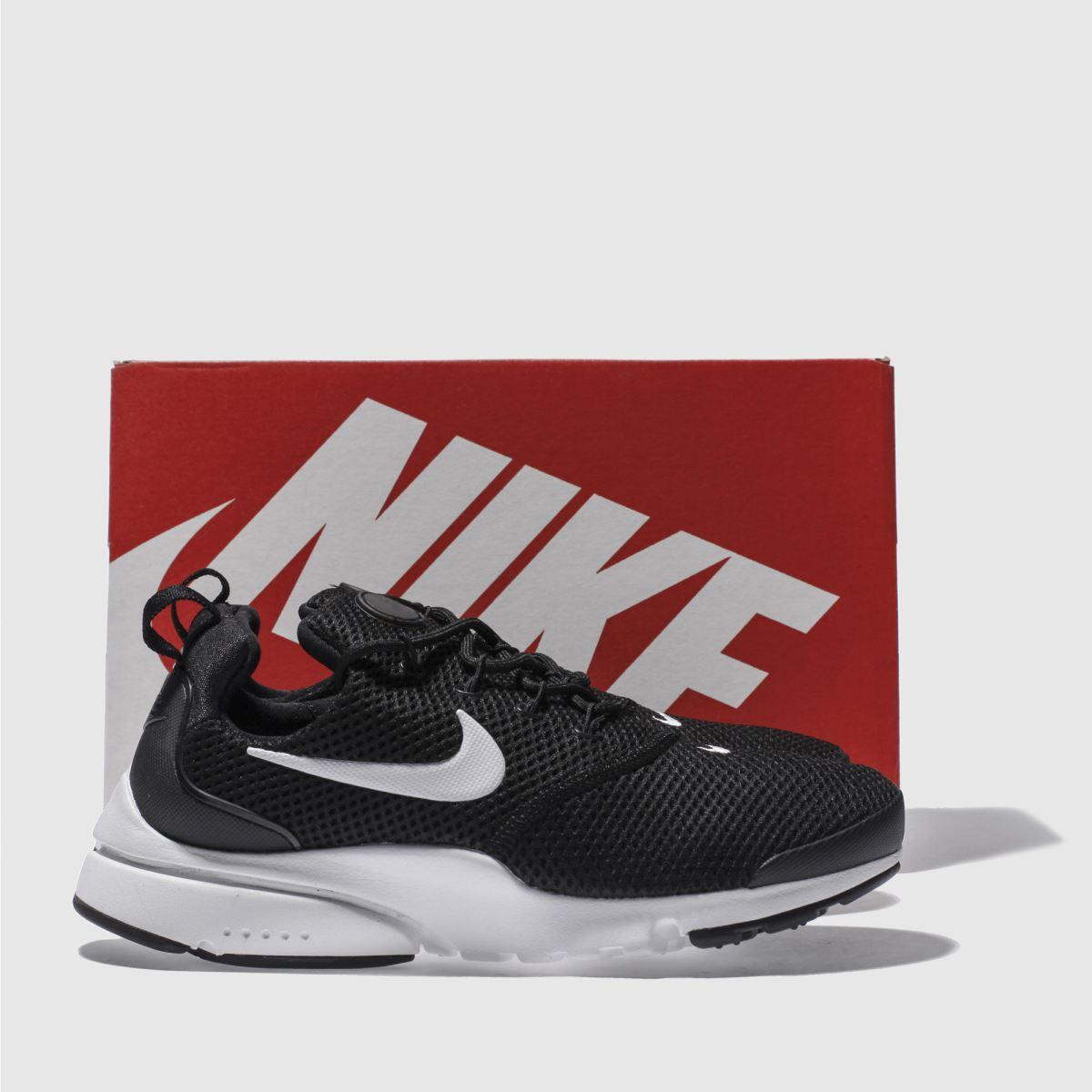 Damen schuh Schwarz-weiß nike Presto Fly Sneaker | schuh Damen Gute Qualität beliebte Schuhe 9f55d0