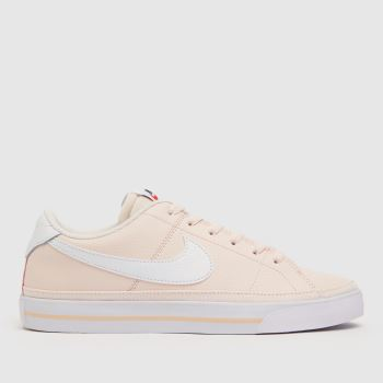 Nike Pale Pink Court Legacy Womens Trainers