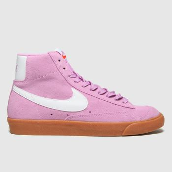 Nike Pale Pink Blazer Mid 77 Womens Trainers#