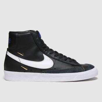 Nike Black & White Blazer Mid 77 Womens Trainers