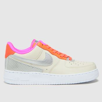 Nike Natural Air Force 1 07 Se Womens Trainers