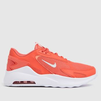 Nike Red Air Max Bolt Womens Trainers