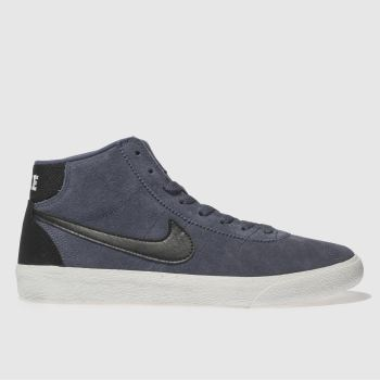 Nike Sb Navy & Black Bruin Hi Womens Trainers