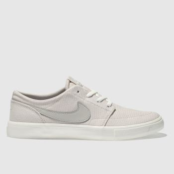 Nike Sb Natural Portmore Ii Solarsoft Womens Trainers