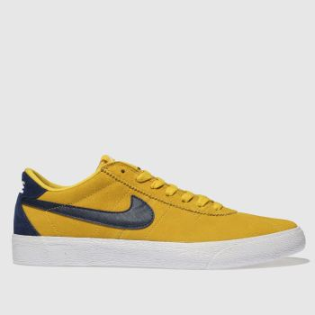 Nike Sb Yellow BRUIN LOW Trainers
