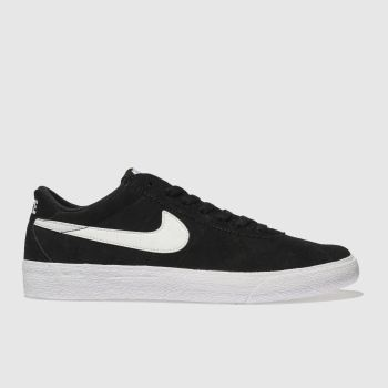 Nike Sb Black & White Bruin Low Womens Trainers
