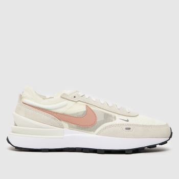 NIKE PALE PINK HUARACHE RUN SE TRAINERS