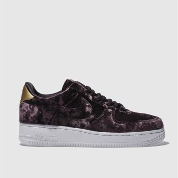 Nike Purple Air Force 1 Low Premium Womens Trainers