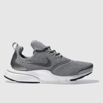 Nike Grey PRESTO FLY SE Trainers