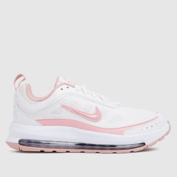 Nike White & Pink Air Max Ap Womens Trainers