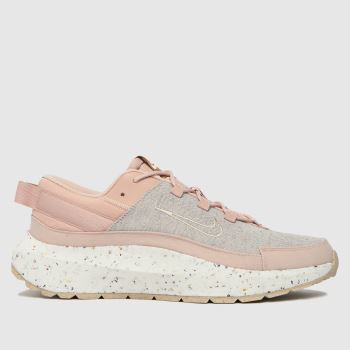 Nike Pale Pink Crater Remixa Womens Trainers