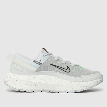 Nike Light Grey Crater Remixa Womens Trainers