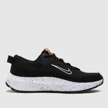 Nike Black & White Crater Remixa Womens Trainers