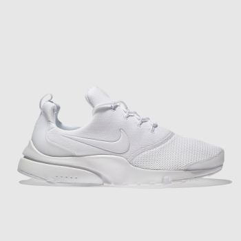 low priced 91e44 df39b womens white nike presto fly trainers | schuh