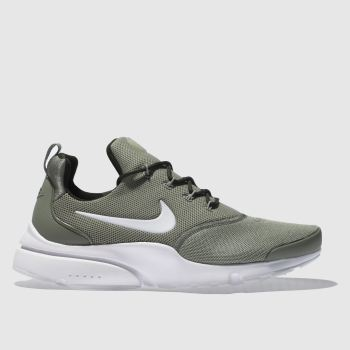 Nike Khaki Presto Fly Womens Trainers
