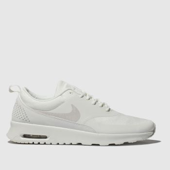nike white air max thea trainers