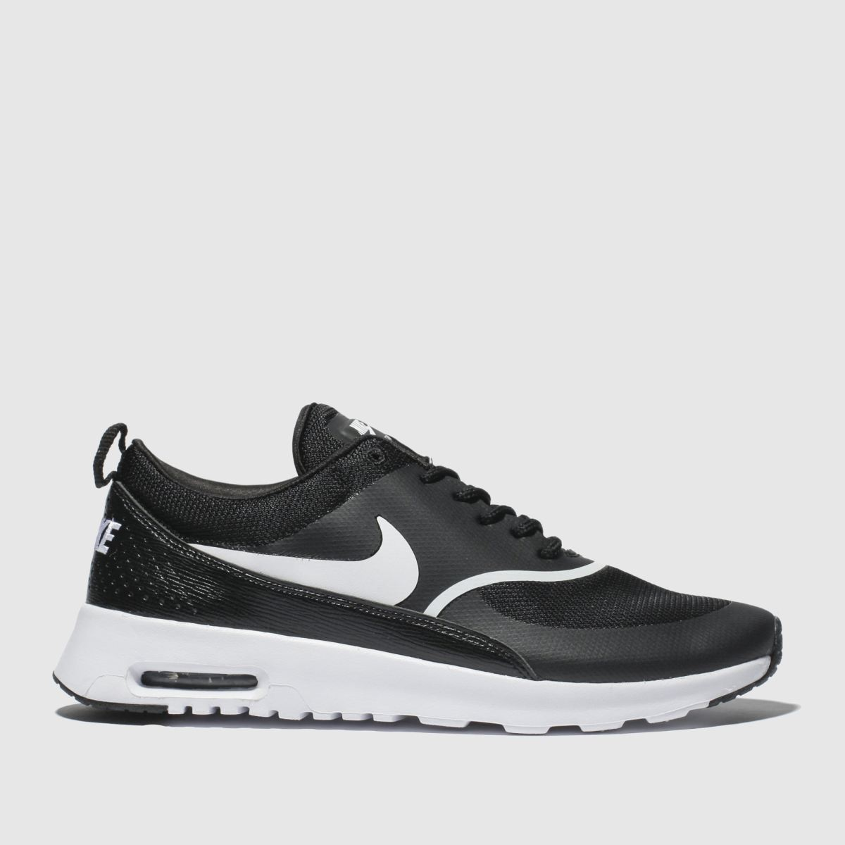 Nike Nike Black & White Air Max Thea Trainers