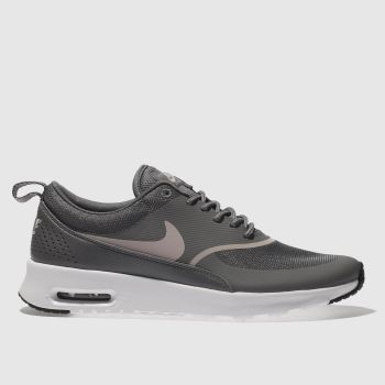 Nike Grey Air Max Thea Womens Trainers fbd26eec43