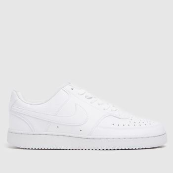 Nike White Court Vision Low Better Womens Trainers