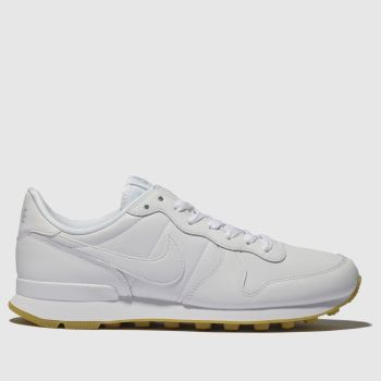 Nike White Internationalist Womens Trainers#