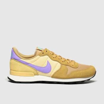 Nike Orange Internationalist Damen Sneaker