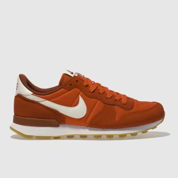Nike Red Internationalist Womens Trainers