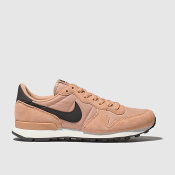 Nike Pink Internationalist Womens Trainers