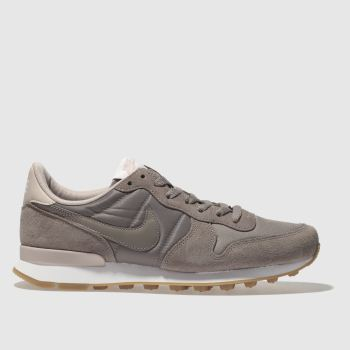 Nike Brown Internationalist Womens Trainers