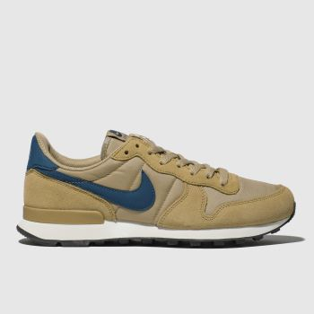 nike tan internationalist trainers