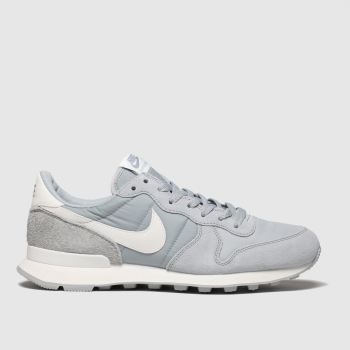 Nike Light Grey Internationalist Womens Trainers