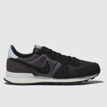Nike Black INTERNATIONALIST Trainers