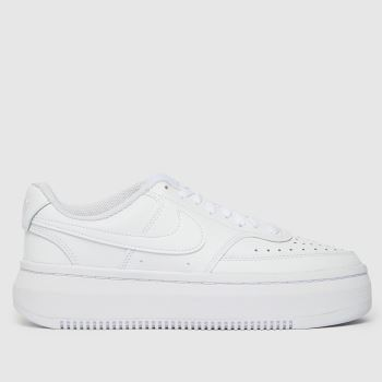 Nike White Court Vision Alta Womens Trainers