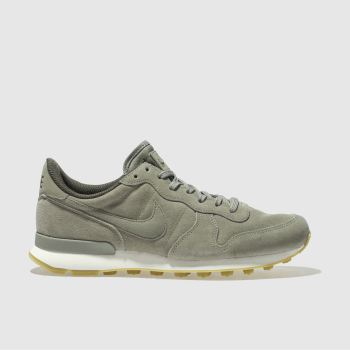 Nike Khaki INTERNATIONALIST SE Trainers