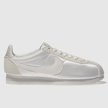 NIKE NATURAL CORTEZ NYLON TRAINERS
