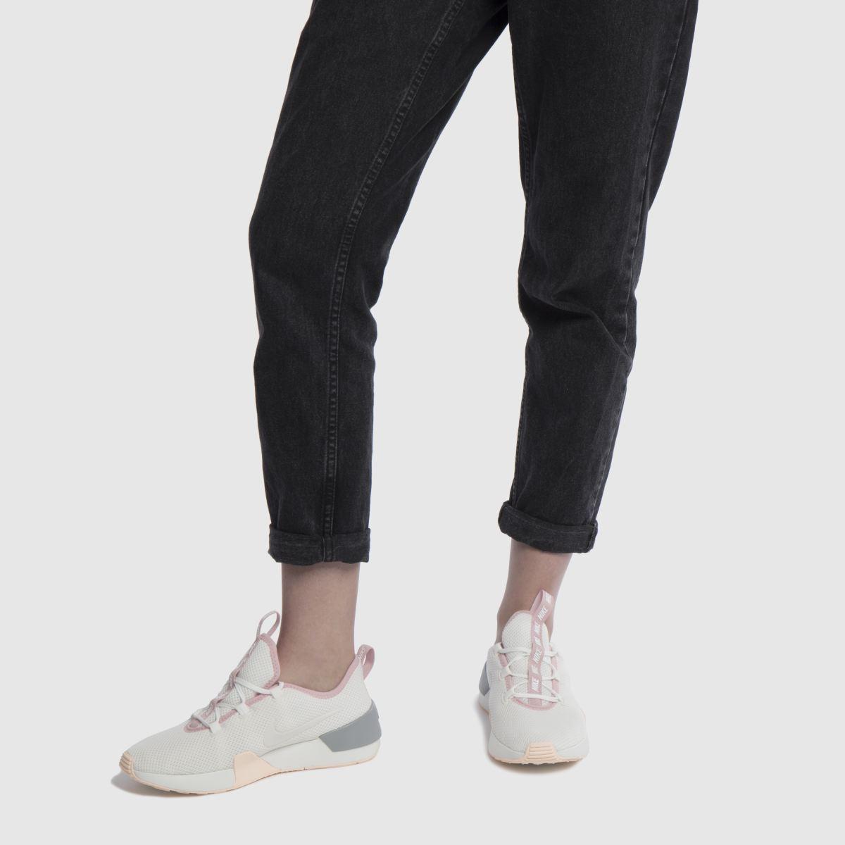 Damen Weiß-pink nike Ashin Modern Sneaker   schuh Gute Qualität beliebte Schuhe
