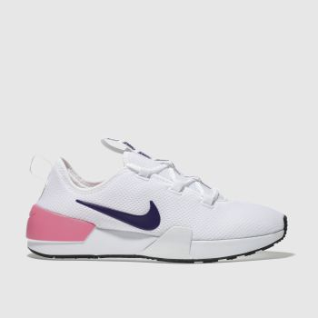 Nike White & Purple ASHIN MODERN Trainers