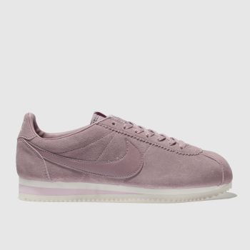 Nike Pink Cortez Suede Womens Trainers
