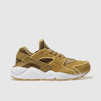 Nike Gold Huarache Run Womens Trainers