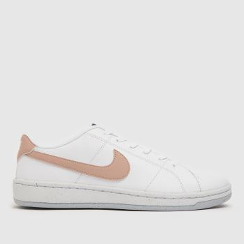 Nike White & Pink Court Royale 2 Better Ess Womens Trainers