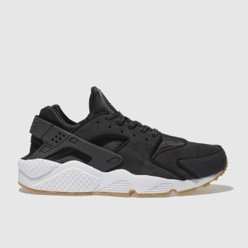 Nike Dark Grey Huarache Run Womens Trainers b3f051ad3